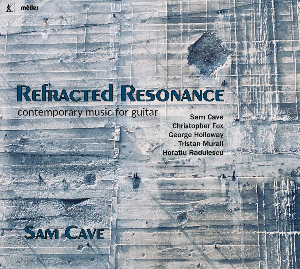 Sam Cave forthcoming CD release on Metiér: Guitar Sonatas