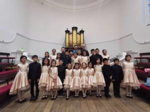 Holloway Children's Choir: Llangollen TV competition performances, Oxford and London Concerts (July 2019)