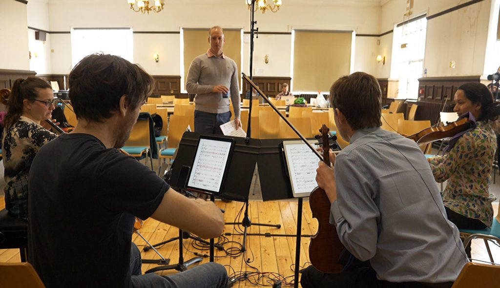 "Ligeti Quartet perform ""Metastable"" at Bristol University (Metastable Impressions Project, May 2019)"