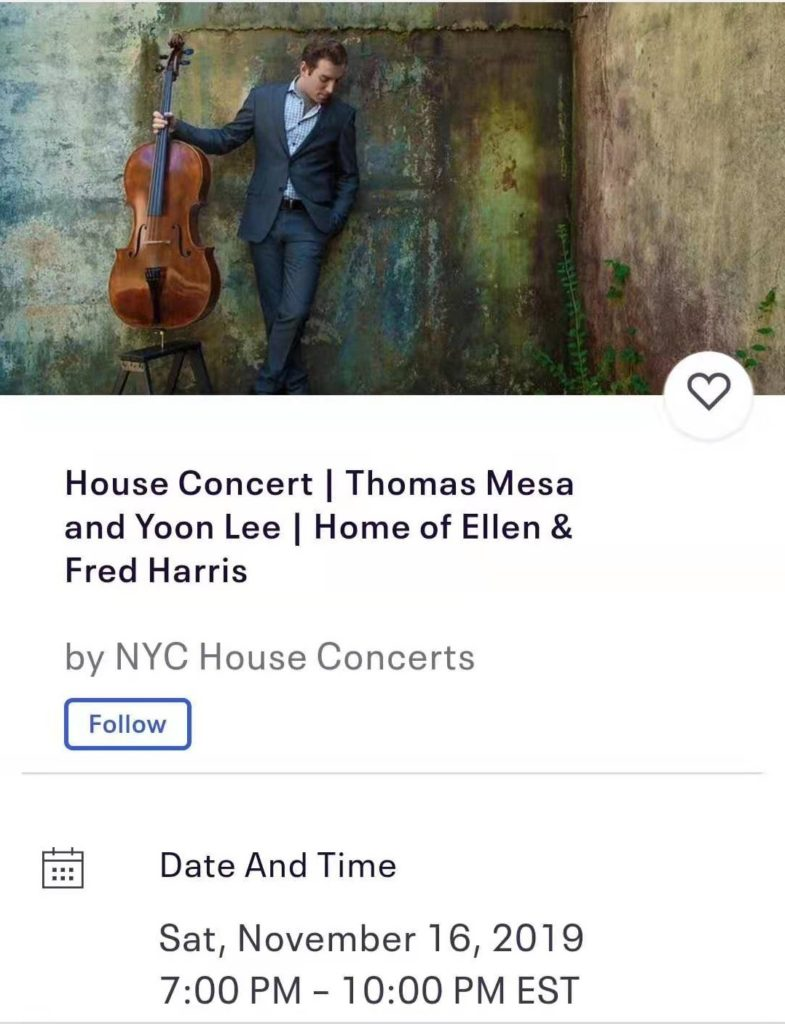 "Thomas Mesa, Yoon Lee perform ""Novella (Chapter One)"" in New York (Nov.2019)"